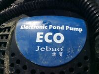 Jebao Dual inlet water filter withHazelock pond filter