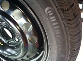 CONTINENTAL NEW TYRE WITH 5 STUD WHEEL NEW
