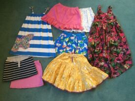 Bag of girls clothes (6-7 years)