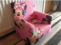 Children's Minnie Mouse chair