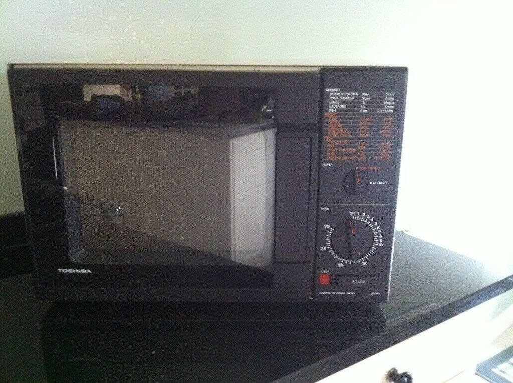Toshiba Microwave Oven Microwave Cooker Reheat Functions