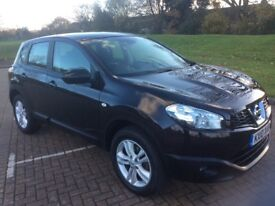 Nissan Qashqai DCI pure drive acenta full history 55000 miles