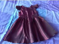 Girls party dress for age 12-18 mths