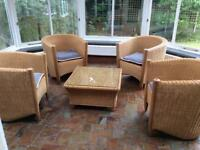 conservatory set. NOW REDUCED TO £80.00 from 5/8/18
