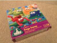 Frogs Frenzy (hungry hippo) game