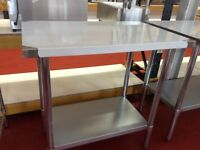 Stainless steel work table 60 cm / Hotel / Restaurant / Fast Food