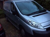 Citroen Dispatch Van, 2011, Silver, Breaking Complete Vehicle.