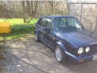 Mk 1 golf karman convertible