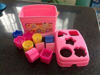 Fisher Price Shape Sorter Bucket