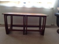 Gplan nest of tables in good condition.£25ono