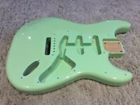 stratocaster body - surf green