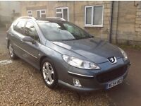 Peugeot 407 diesel estate. MOT - March 2017. Bodywork is amazing. Lovely car to drive.