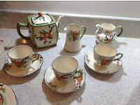 Art Deco Phoenix blossom ware tea set