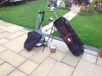 Full set of Golf clubs .. bag...plus golf balls and tees ..the lot for £60 great condition ..£60