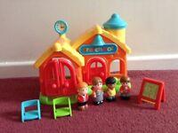 ELC Happyland School Set with children