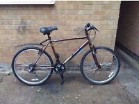 Mens Hardtail Aluminium Lightweight Apollo Vortice Hybird Mountain Bike in EXCELLENT Condition