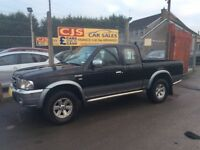 Ford ranger 2.5 turbo diesel double cab oneowner 60000 fsh full year mot mint pick up fullyserviced