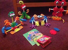 Kids K'Nex model creatures