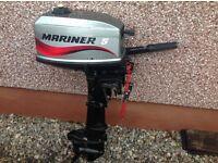 Mariner 2 stroke 5hp Outboard