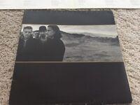 """U2, Joshua tree 12"""" vinyl"""