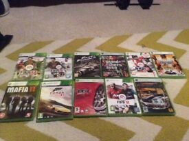 Xbox 360 games and console