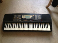YAMAHA electric Keyboard & Stand - In need of repair