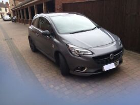 Vauxhall corsa special edition turbo
