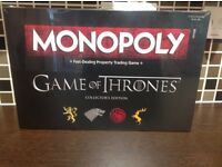 Game of Thrones Monopoly Collector's Edition NEW & SEALED