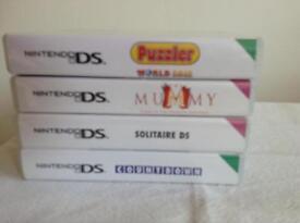 Nintendo DS x 4 games