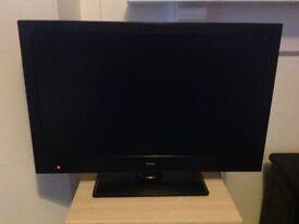 "20"" Flatscreen Bush TV with built in DVD"