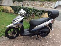 2015 Suzuki address, 113cc, excellent quality scooter