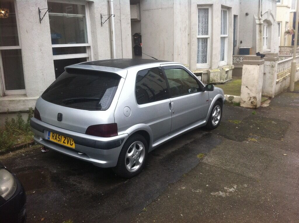 Peugeot 106 gti very clean car