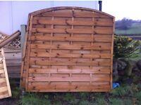 2 Garden domed fences