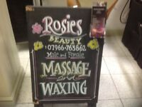 Massage and Waxing