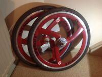 Spengle mtb3 carbon wheels yeti Kline