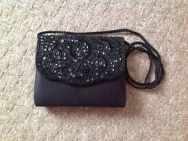 Ladies Black Evening Bag.