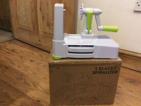 3-Blade Spiral Vegetable Spiralizer Cutter