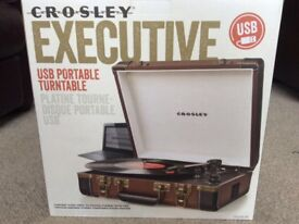 Never used new Usb Portable turntable