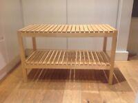 Ikea Molger storage bench