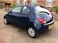 Ford Ka 1.3i Style, 2008, Low Mileage only 41000 Miles, New 12 Months MOT