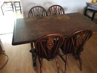 Project table & chairs