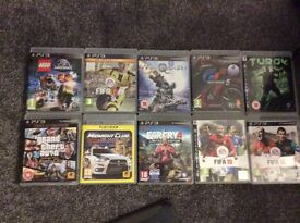 £180/ o.n.o PS3 160gb comes with 41 games /1 remote /headset