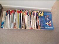 Which magazines from 1991-1995