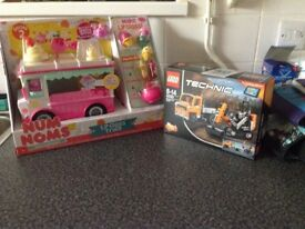 Brand new unopened num nom lipgloss truck and technics work force