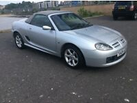 MGTF 1.8 convertible, 62000mls, mechanical and electrical good, engine sweet, mot 22june.