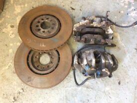 Audi TT Quattro 3.2 brakes