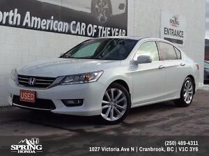 2013 Honda Accord Touring V6 $148 Bi-Weekly