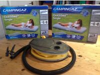 Camping gaz quickbeds and pump