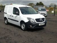 DEC 2015 MERCEDES CITAN 1.5 CDI LONG WHEEL BASE WITH ALL THE OPTIONS FITTED. 2 SIDE DOORS. PLY LINED
