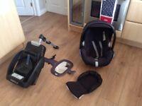 Maxi cosi easybase 2 and pebble car seat/safety mirror